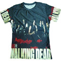 Fashion New 3D T Shirt Print The Walking Dead  Funny T Shirts Plus Size S-5XL Men's Short Sleeve Polyester O-Neck Men T-shirt