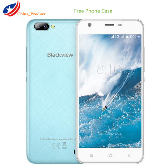 New Blackview A7 Dual camera in the back 5 0inch MTK6580 Quad Core Smartphone 1GB RAM
