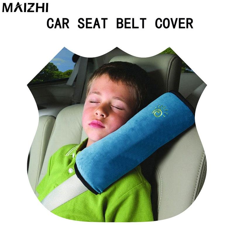 car seat belt cover auto safety seat belt protection children shoulder pad belt sleep cushion head