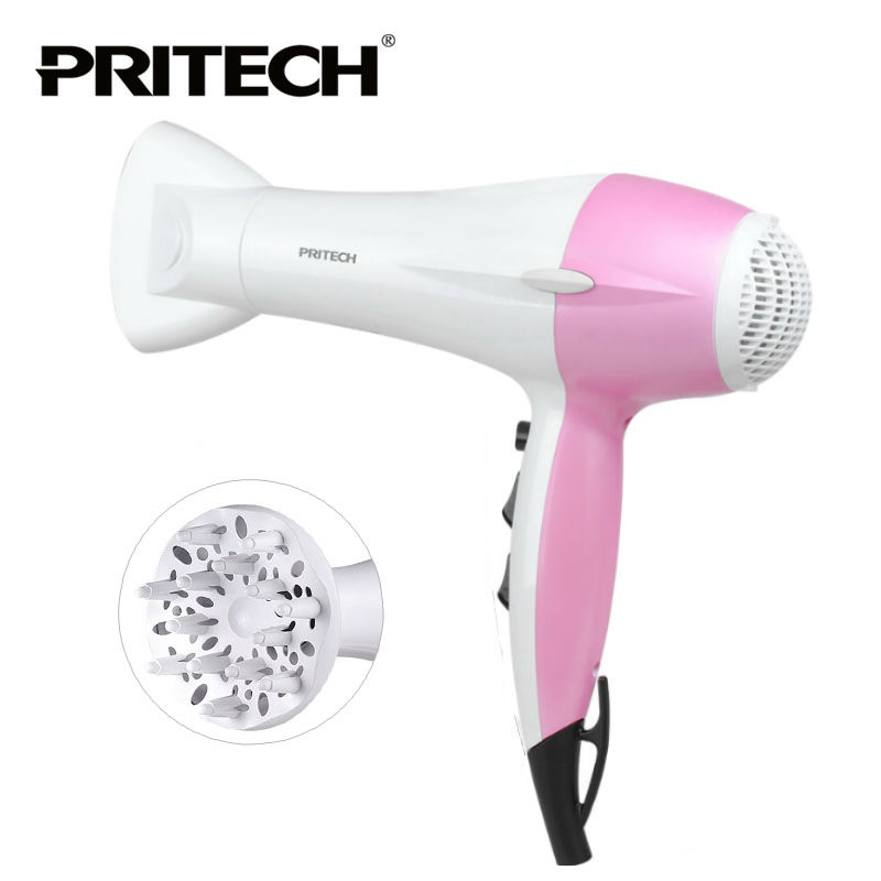 PRITECH Brand Hair Dryer Professional DC Motor Best Hair Dryer Big Power Silent Hair Dryer With Diffuser 775 dc motor power motor 12v13000 big model