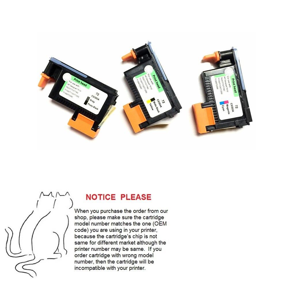 Yotat Remanufactured 72 Druckkopf Für Hp 72 Druckkopf Für Hp Designjet T610 T620 T770 T790 T1100 T1120 T1200 T1300 T2300 Seien Sie Im Design Neu