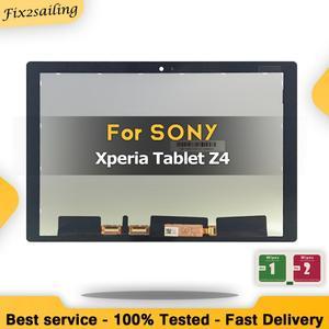 100% testados para sony xperia tablet z4 sgp771 sgp712 lcd display touch screen digitador painel de substituição para sony mesa