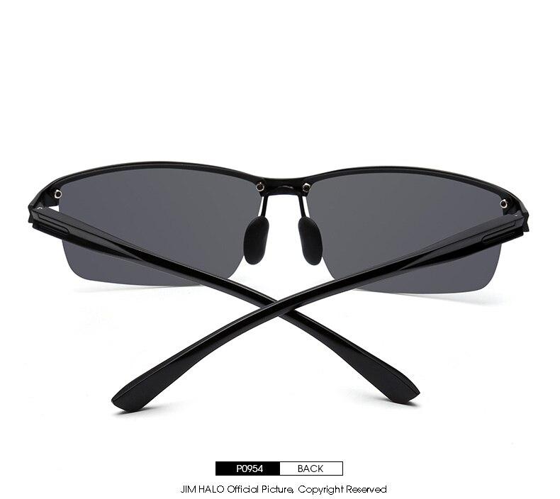 3c45e649fe Compre Retro Vintage Polarizado Gafas De Sol De Conducción Al Mg ...