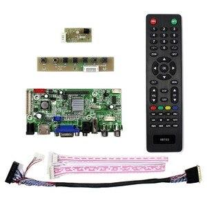 Image 2 - HDMI + VGA + 2AV + USB + Audio LCD Controller Board voor 14inch 15.6inch 17.3inch 1600x900 LP140WD2 LP156WD1 LP173WD1 Lcd scherm