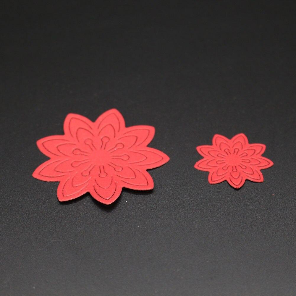3d Flowers Cutting Dies Invatation Card Diy Scrapbooking Album Paper