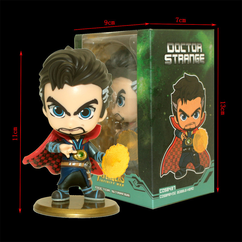 Hot Toys Avengers Infinity War Doctor Strange Future Version Cosbaby  Marvel
