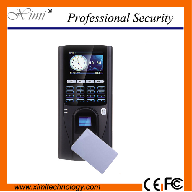 biometric fingerprint access controller TCP/IP fingerprint door access control reader f807 biometric fingerprint access control fingerprint reader password tcp ip software door access control terminal with 12 month