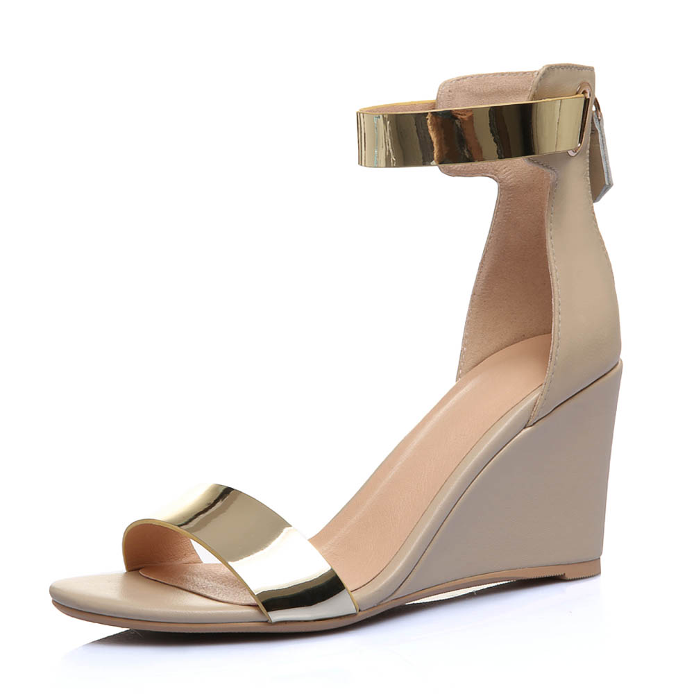 Black wedge sandals 2 inch heel
