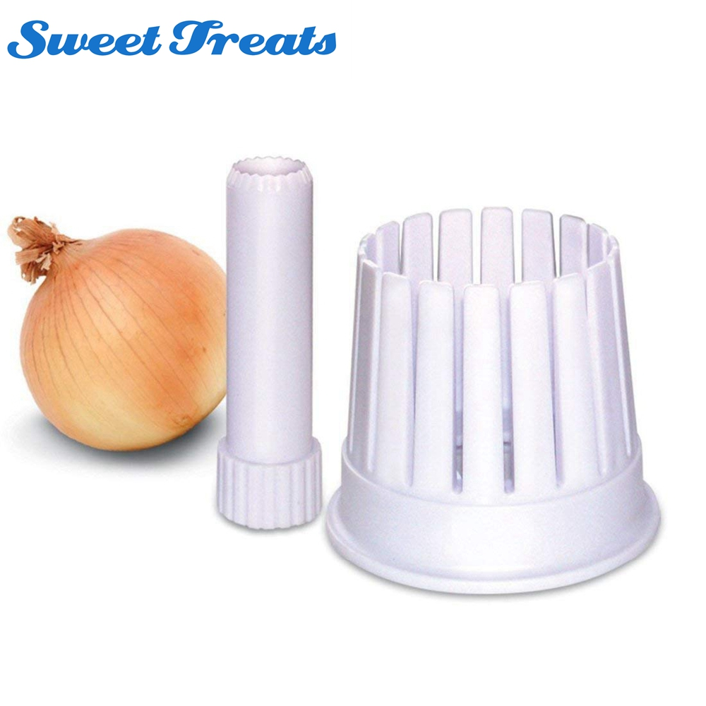Sweettreats Onion Blossom Maker Slicer Blossom Fruit & Vegetable Cutter Tools Cutting Kitchen Accessories