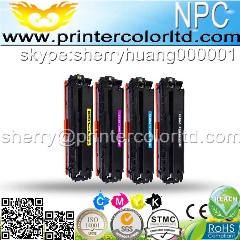 320 323U) compatible toner printer cartridge for HP PRO CM1415FN CM 1415FN 1415 1215 1515 CM1312 CM 1312 1300 kcmy 2k/1.3k