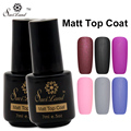 Saviland 1pcs Nail Gel Polish Matt Top Coat Hot Sales UV LED Lacquer Nail Art Tips Dull Finish Top Coat Matte UV Gel
