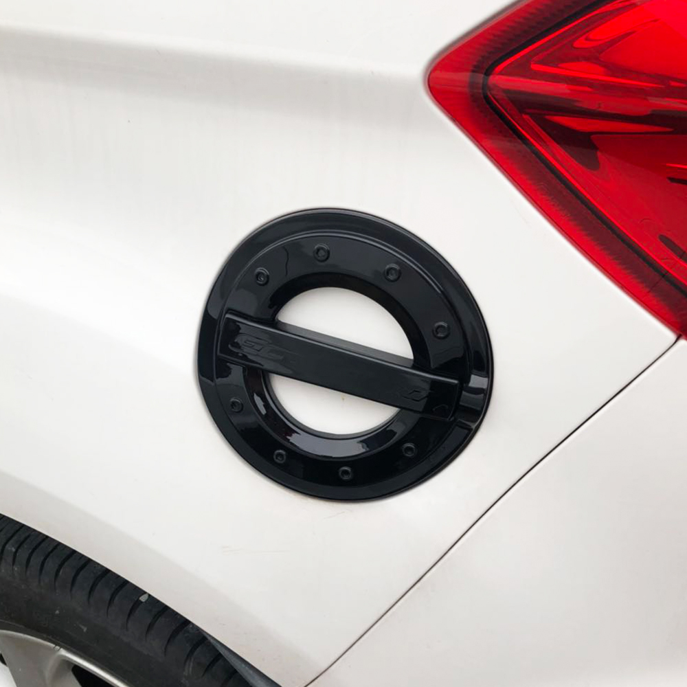 Jameo Auto ABS Car Styling Fuel Tank Cap Protection Cover Sticker For Ford Ecosport 2012 2013 2014 2015 2016 2017 Accessories