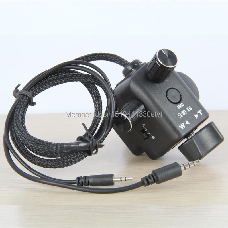 Здесь можно купить  Factory supply tripod top handler zoom aperture remote controller CAM REMOTE 2.5MM DVC63 DVC180 153 AG130  Бытовая электроника