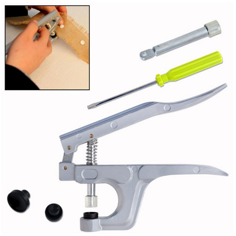 1 Set Mini Snap Plier Tools T3 T5 T8 Deduction Clamp Snap Buttons Sewing Supplies For Fastener Used For Diaper DIY Mixing 2017