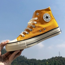 2019 New 1970s Vintage Sneakers Korean-Style Spring Versatile Students High-Top Canvas Shoes Male Couple's Cloth Sneakers