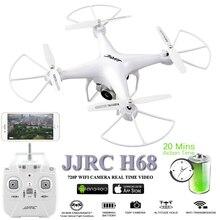 """מזל """"טים עם מצלמה Drone 20 Minustes עף זמן Dron 2.4G Quadcopter WiFi FPV Quadrocopter RC מסוק צעצוע Brinquedo"""