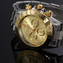 Men s Automatic WatchesTop Luxury Brand Gold Black watch relogio automatic masculino Day Date Watch Clock