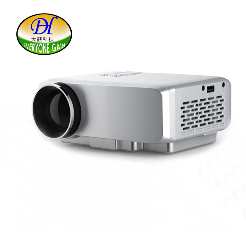 Everyone gain portable led 4k-level tv projector high performance domestic home cinema...