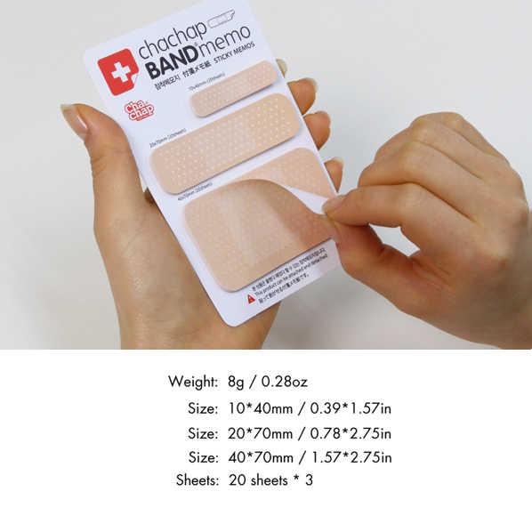 1 PC bricolage mignon bloc-notes mémo bloc-notes autocollant papier Kawaii Note créative papeterie coréenne 1006