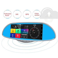 7 0 Inch LCD Screen HD 1080P Car Rearview Mirror DVR Car Camera Parking Monitor Navigator