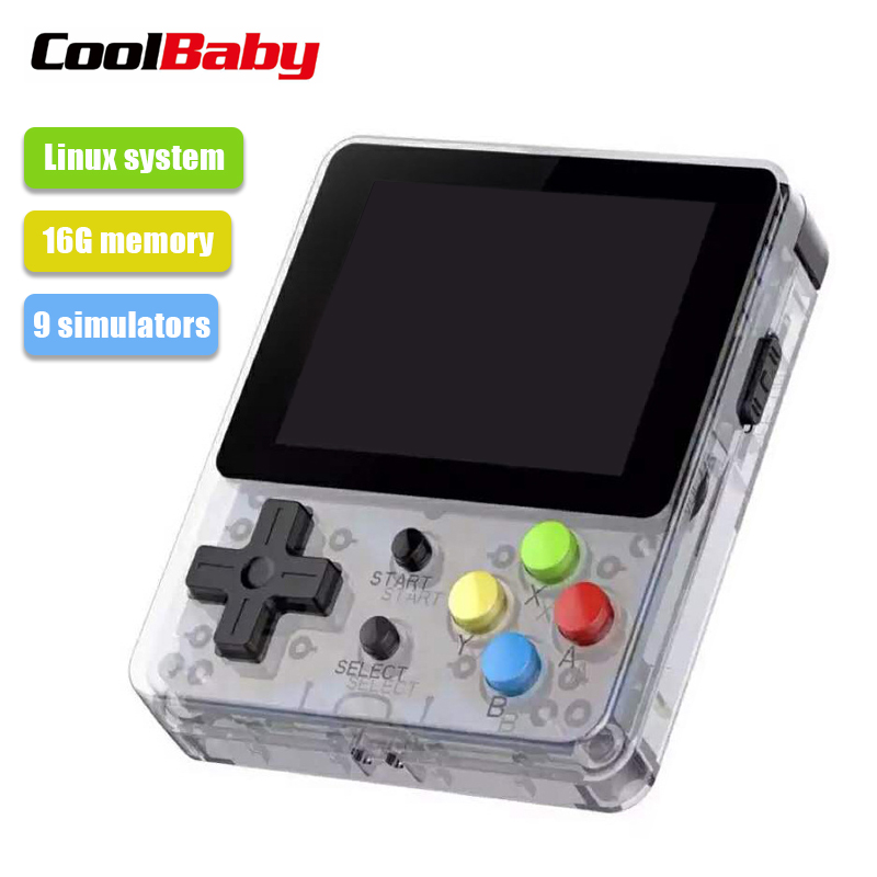 COOLBABY LDK 2.6inch Screen Handheld Game Console Nostalgic Children Retro Mini