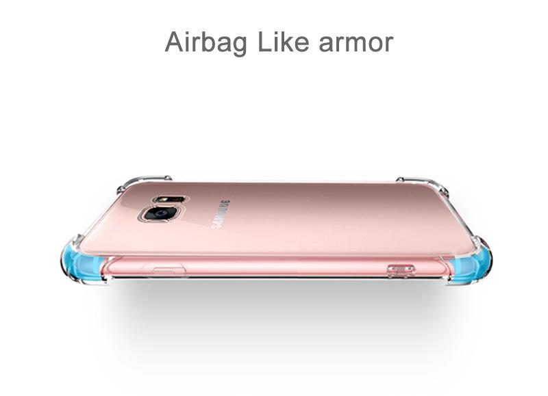 Clear Samsung Galaxy S8, S8 Plus Case 15