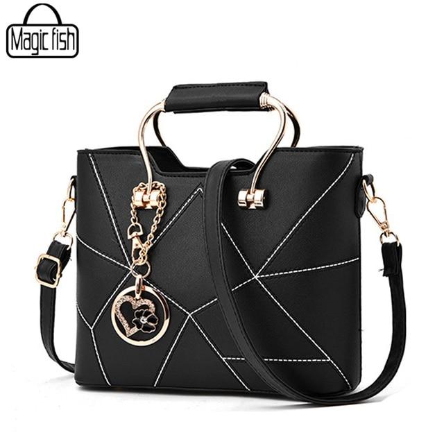 2018 Fashion Women Handbag Famous Brands Bag Good Quality Female Tote Messenger Design