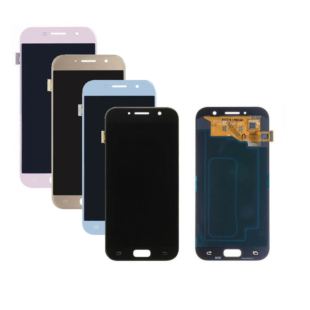 Black/Gold/Blue For Samsung Galaxy A5 2017 LCD SM-A520F A520F LCD Display Digitizer Touch Screen Assembly+Tools