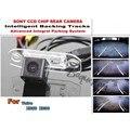 Para Volvo XC60 XC90 XC 60 XC 90 Coche Inteligente Cámara de aparcamiento/con Pistas Módulo Cámara Trasera CCD Noche visión