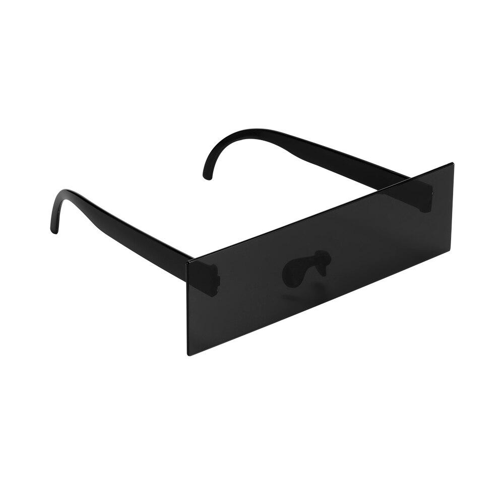 Очки для вождения, реквизит для фотобудки, очки для курильщика, черные солнцезащитные очки с крышкой глаз, реквизит для фотобудки, украшение...