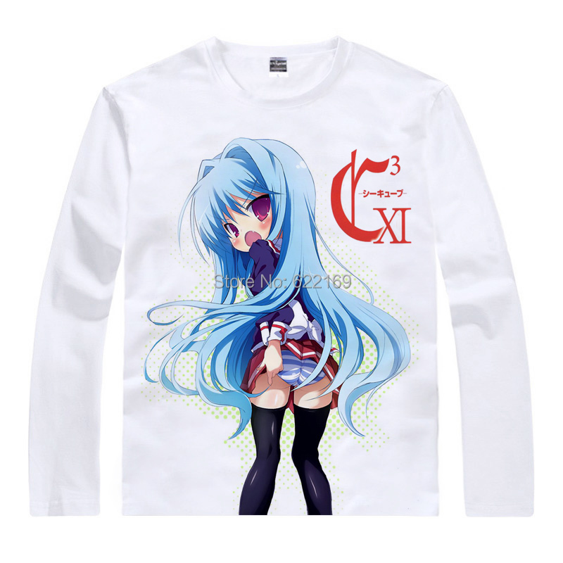 2015 C3 Cube nude girl Fear Cubrick T Shirt Anime Japanese Famous Animation Novelty Summer Mens T-shirt Cosplay coolprint shirts