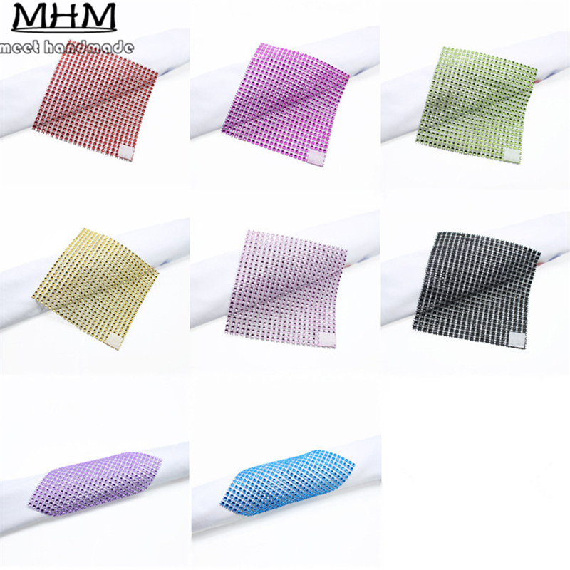 0f8de7105c 20 Color Silver Plastic Rhinestone Mesh Trimming ( Without ...