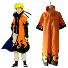 font b Naruto b font Uzumaki 6th Hokage Cloak Robe Anime font b Cosplay b