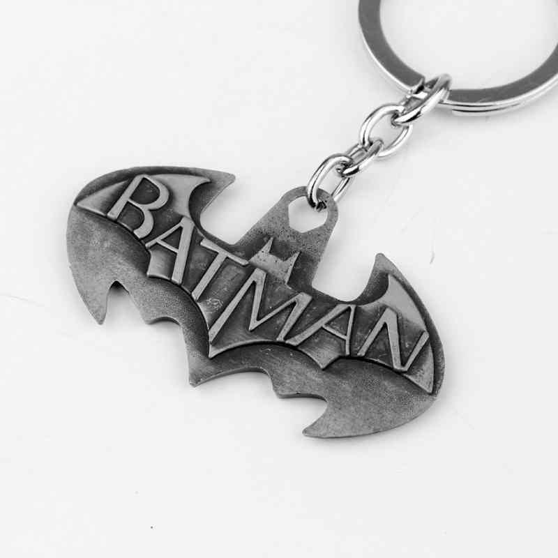 Dongsheng O Filme Dos Vingadores Série Batman Superman Superman Batman KeyChain Da Corrente Chave Chave anel Keychain Chaveiro-50