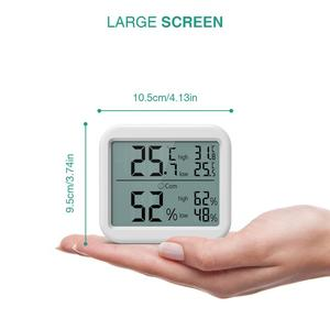 Image 5 - ORIA Mini Digital Hygrometer Thermometer Thermometer Temperature Humidity Monitor Gauge Meter Home Office Bedroom Kitchen