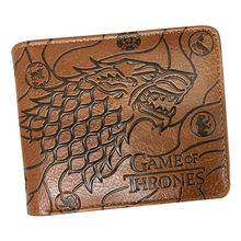 High Quality wallet men Winter Is Coming Game Of Thrones wallets with Card Holder/Coin Pocket Purse(China)