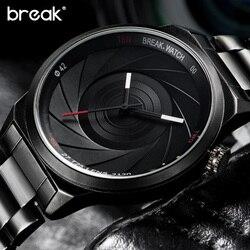 Break unique design photographer series men women unisex brand wristwatches sports rubber quartz creative casual fashion.jpg 250x250