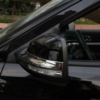 For Ford Explorer 2011 2014 ABS Chrome Car Styling Side Rearview Mirror Strip Frame Cover Trim