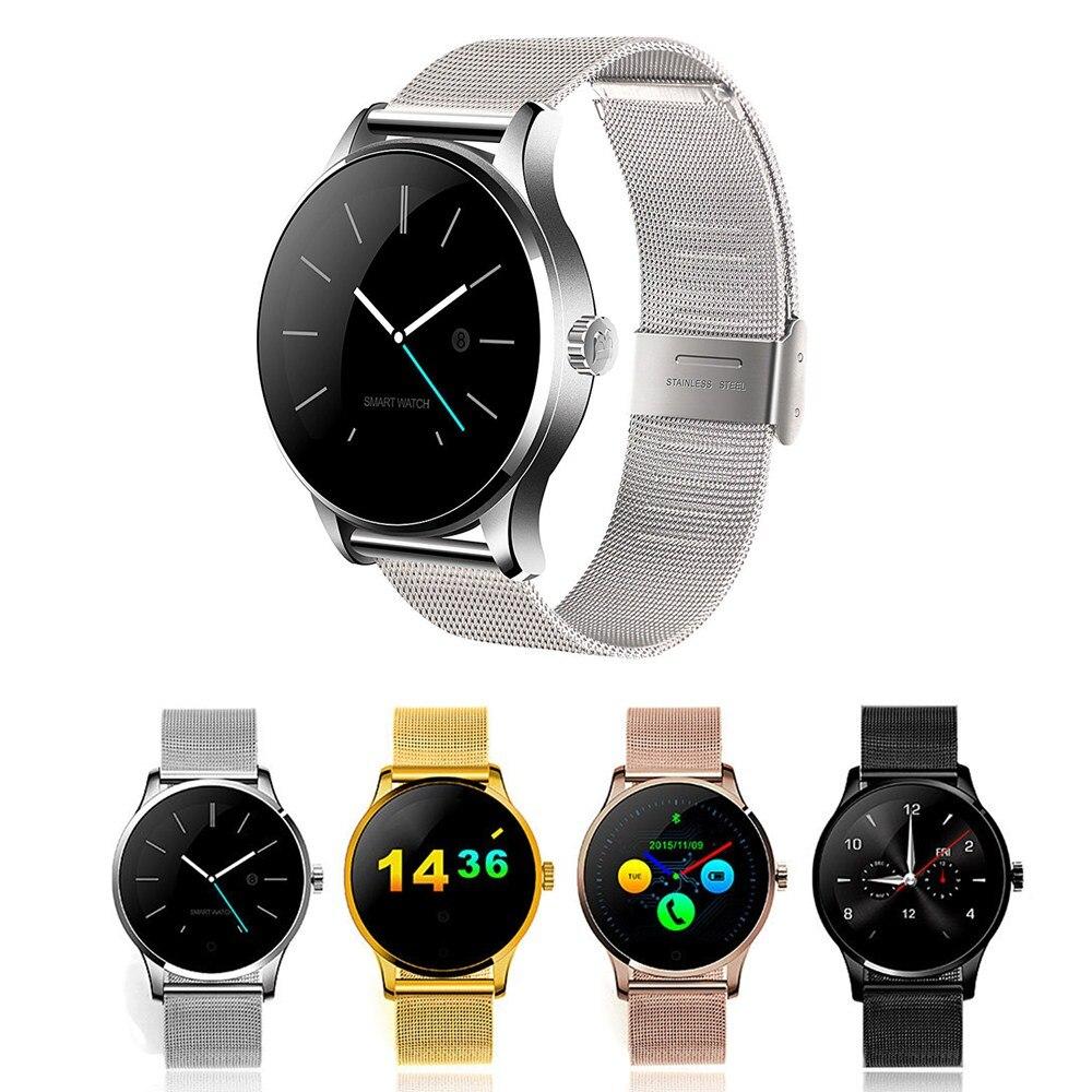 K88H Originale Orologio Intelligente Binario Orologio Da Polso Monitor di Frequenza Cardiaca Pedometro Composizione Bluetooth Smartwatch Per Android IOS iphone 6 7