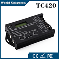 TC420 Time programable RGB LED Controller DC12V/24V 5Channel Total Output 20A Common Anode Programmable Dimmer control