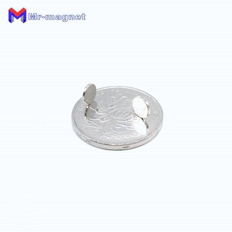 Купить с кэшбэком 2000Pcs 6 x 1.5 mm Neodymium Magnet Permanent N35 D6*1.5 NdFeB Super Strong Powerful Small Round Magnetic Magnets Disc 6*1.5