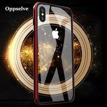 Oppselve For iPhone XS Max Case Bumper Luxury Aluminum Metal Frame Capinhas For iPhone XS X XR 8 7 6 S 6S Plus Coque Accessories стоимость