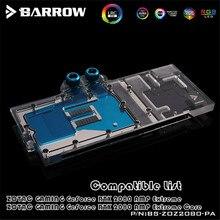 Barrow VGA Block For ZOTAC GAMING GeForce RTX 2080 AMP Extreme Core GPU Water Block Full Cover BS-ZOZ2080-PA