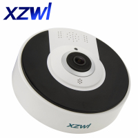 Wifi IP Wide Angle VR Camera HD 3MP Wireless HD 360 Degree Fishey Panoramic Network CCTV