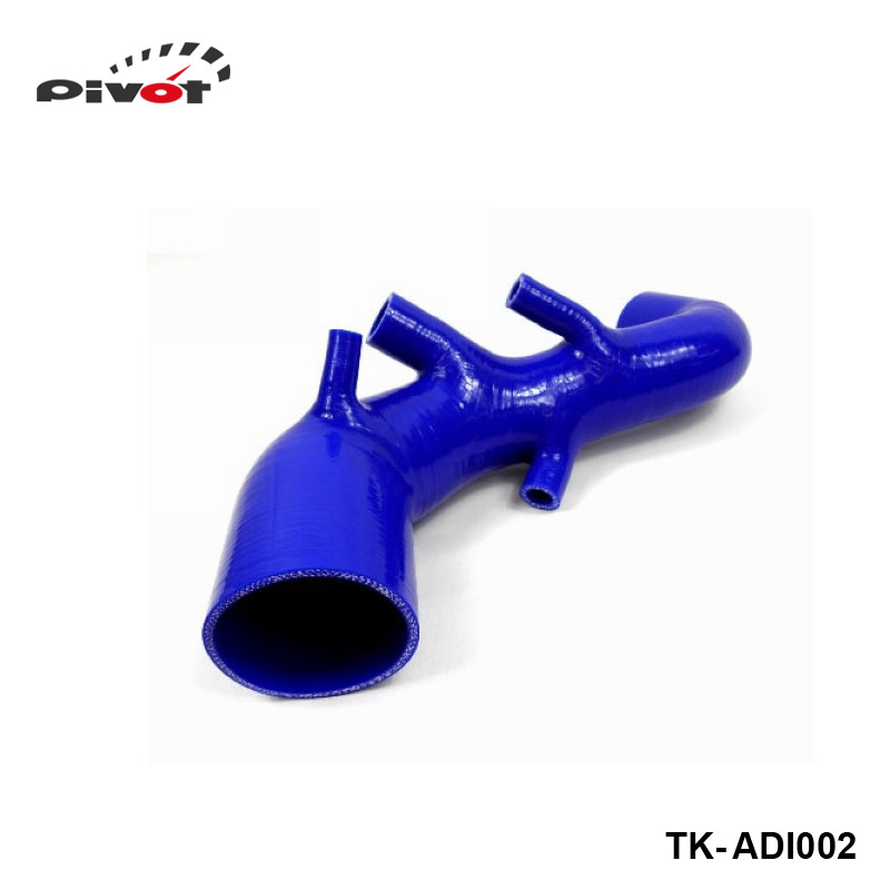 PIVOT-SILICONE AIR INTAKE INDUCTION HOSE PIPE for Audi TT 225 / S3 1.8T 99-06  (1pc) PT-ADI002