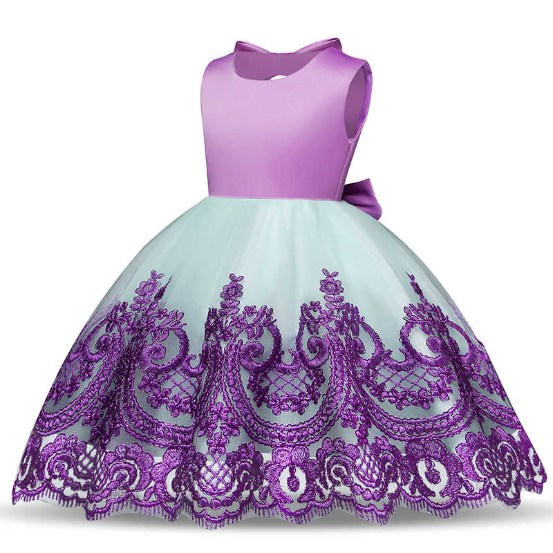 dbcba5ad199 ... Baby Girl Infant Party Dress Little Girl Frock Toddler Girls Clothes  Children s Tutu Bow Decoration Costume ...