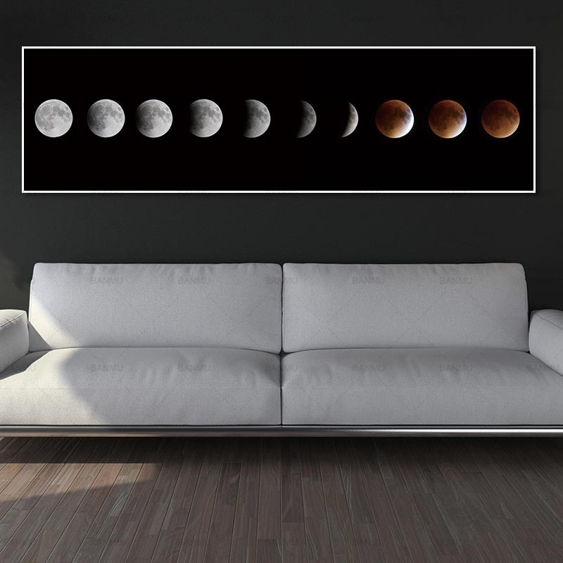 wall artwork photos artwork print moon canvas portray house decor print and poster no body Portray ornament for front room Portray & Calligraphy, Low cost Portray & Calligraphy, wall...