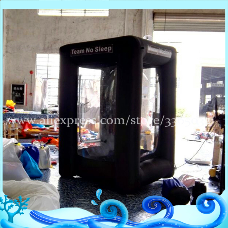 2018 Inflatable Money Machine,Inflatable Money Booth,Inflatable Cash Cube