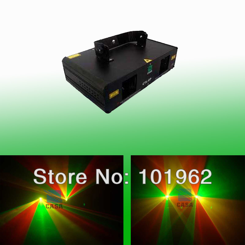 Double 300mW Sound Activated Laser Projector Mix color Moving Head Lighting for Holiday Light Display