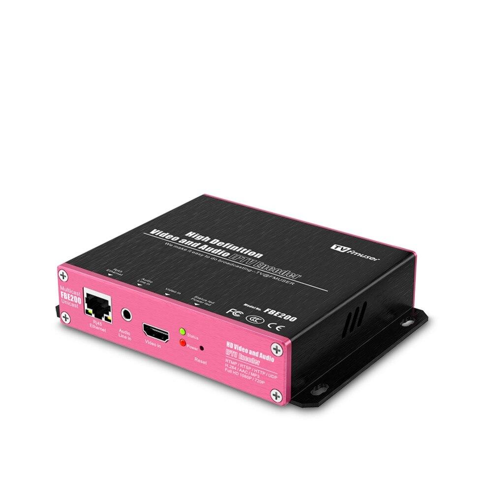 US $158 0 20% OFF|FMUSER FBE200 H 264 LAN HDMI Encoder for Wireless IPTV HD  encoder live Broadcast encoder live stream ,for facebook ,Youtube-in Radio